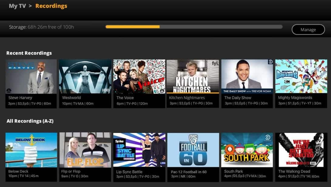 SLING Live TV, Shows & Movies
