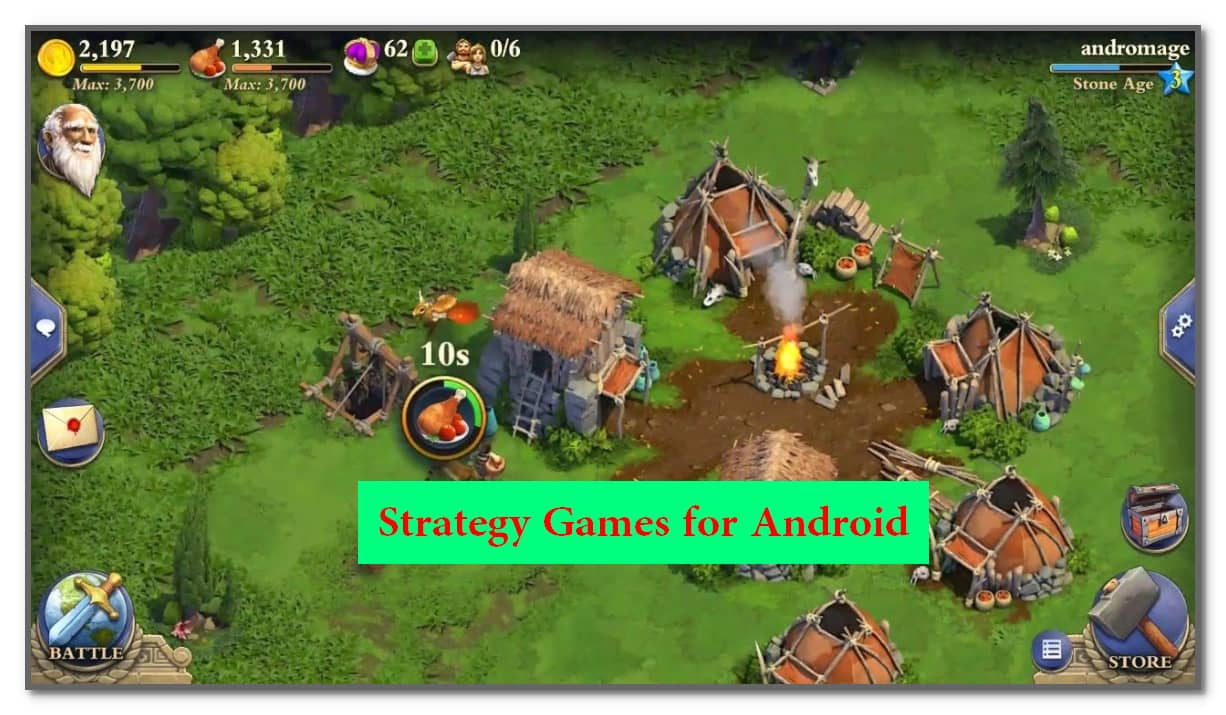 Strategy Games for Android