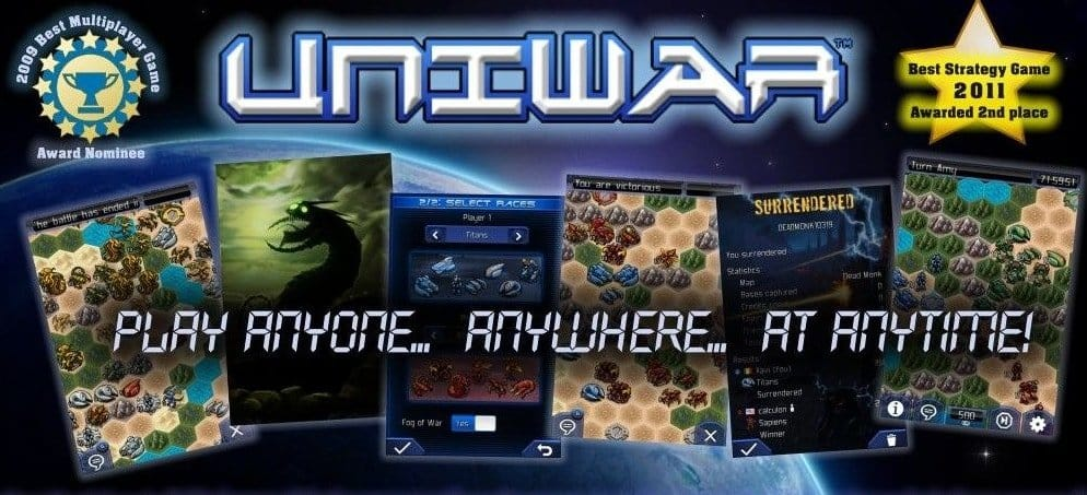 UniWar Strategy Games for Android