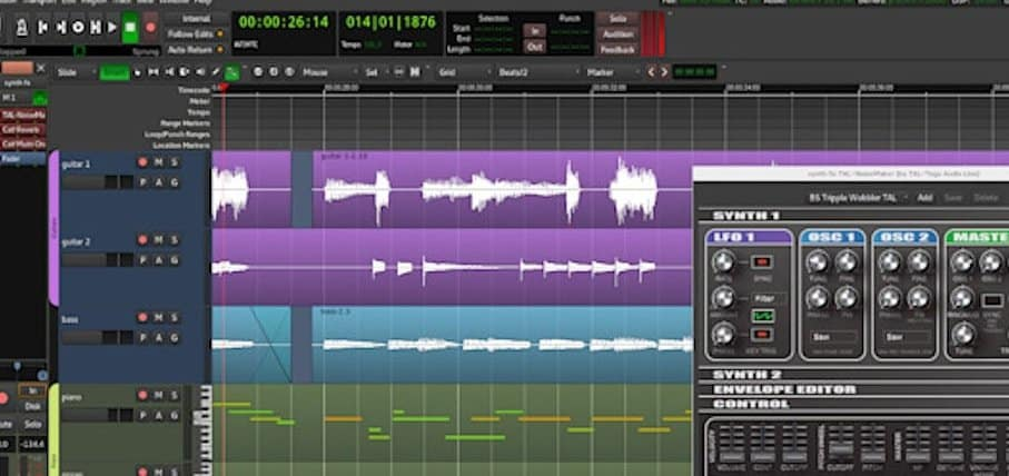 Ardour Audio Editing Software