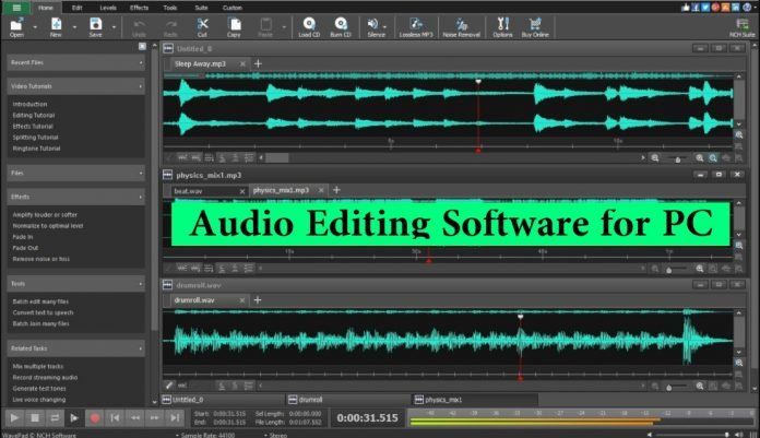 Best Free Audio Editing Software for Better Music