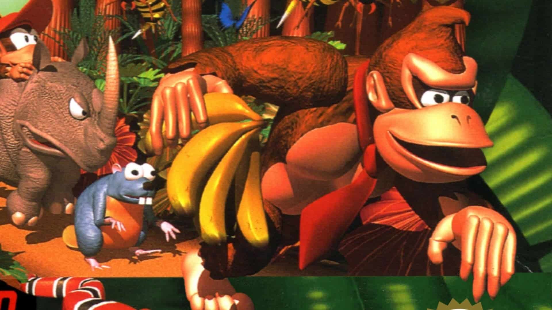 Best ROM Games Donkey Kong Country