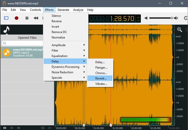 Ocenaudio Audio Editing Software