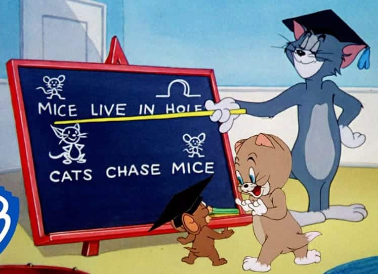 Tom and Jerry-Learn and Play