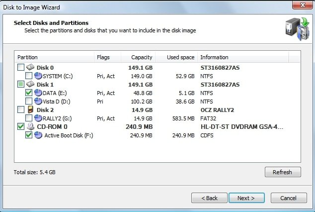 Active@ Disk Image - Best Free Disk Cloning Software to Clone Hard Drive