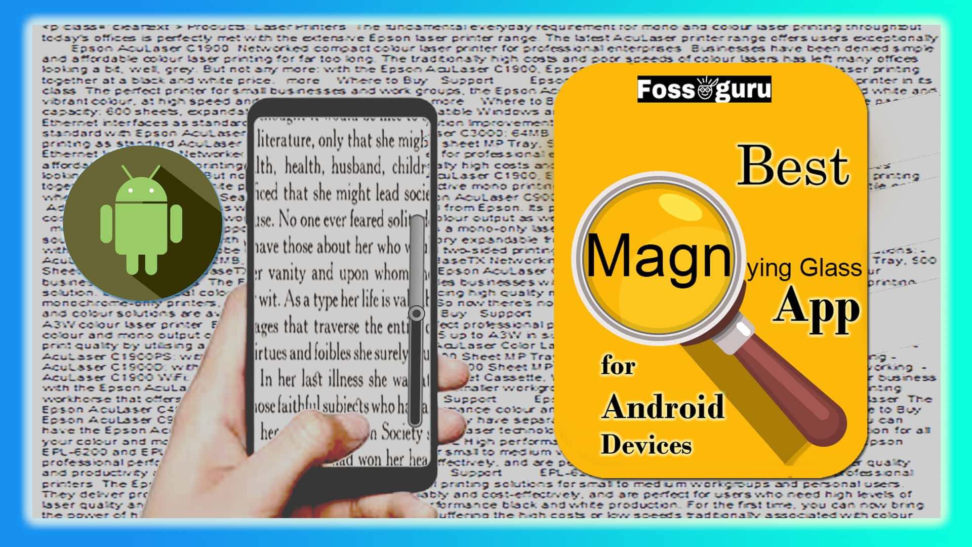Best Magnifying Glass App for Android