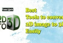 Best Tools to Convert 2D image to 3D