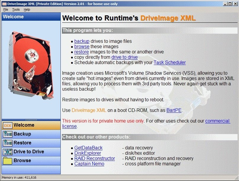 DriveImage XML - Best Free Disk Cloning Software to Clone Hard Drive