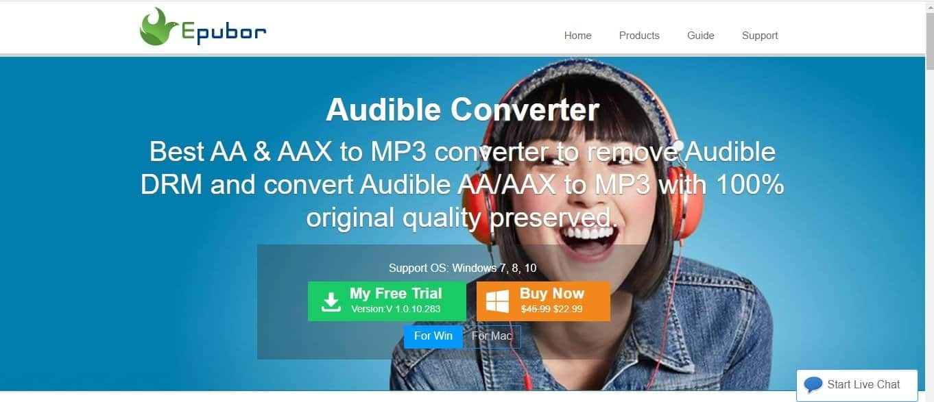 Epubor Audible Converter (WIN & MAC)