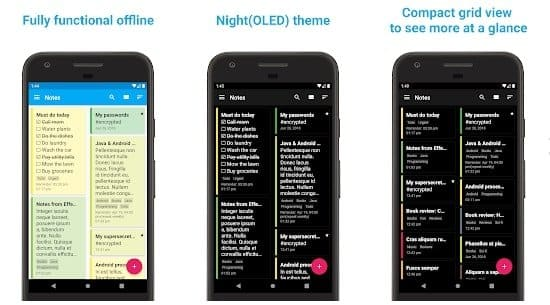 FairNote Note Apps for Android