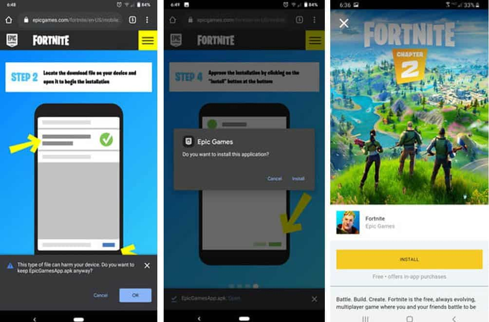 How to download Fortnite on other Android devices