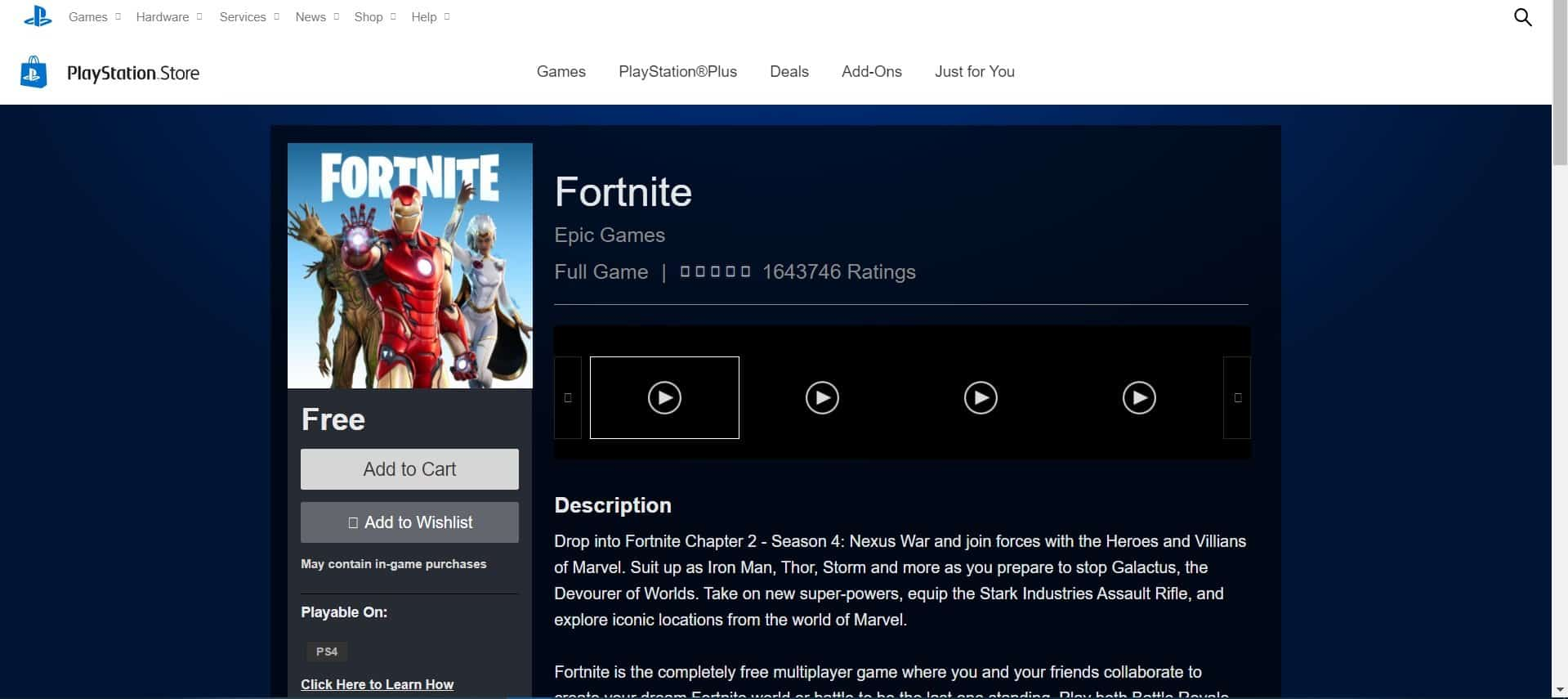 How to play Fortnite From web browser