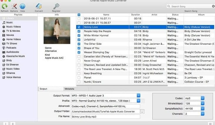 TuneFab Audiobook Converter to Convert AAX to MP3 Online