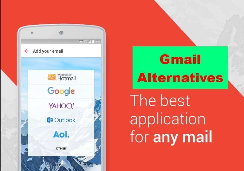 Best Email Apps for Android as Gmail Alternatives