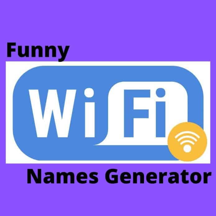 Cool and funny WiFi names generator for your SSIDRouter