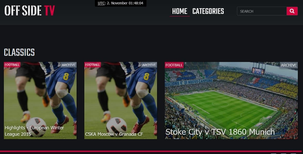 Offside TV Live Football Stream