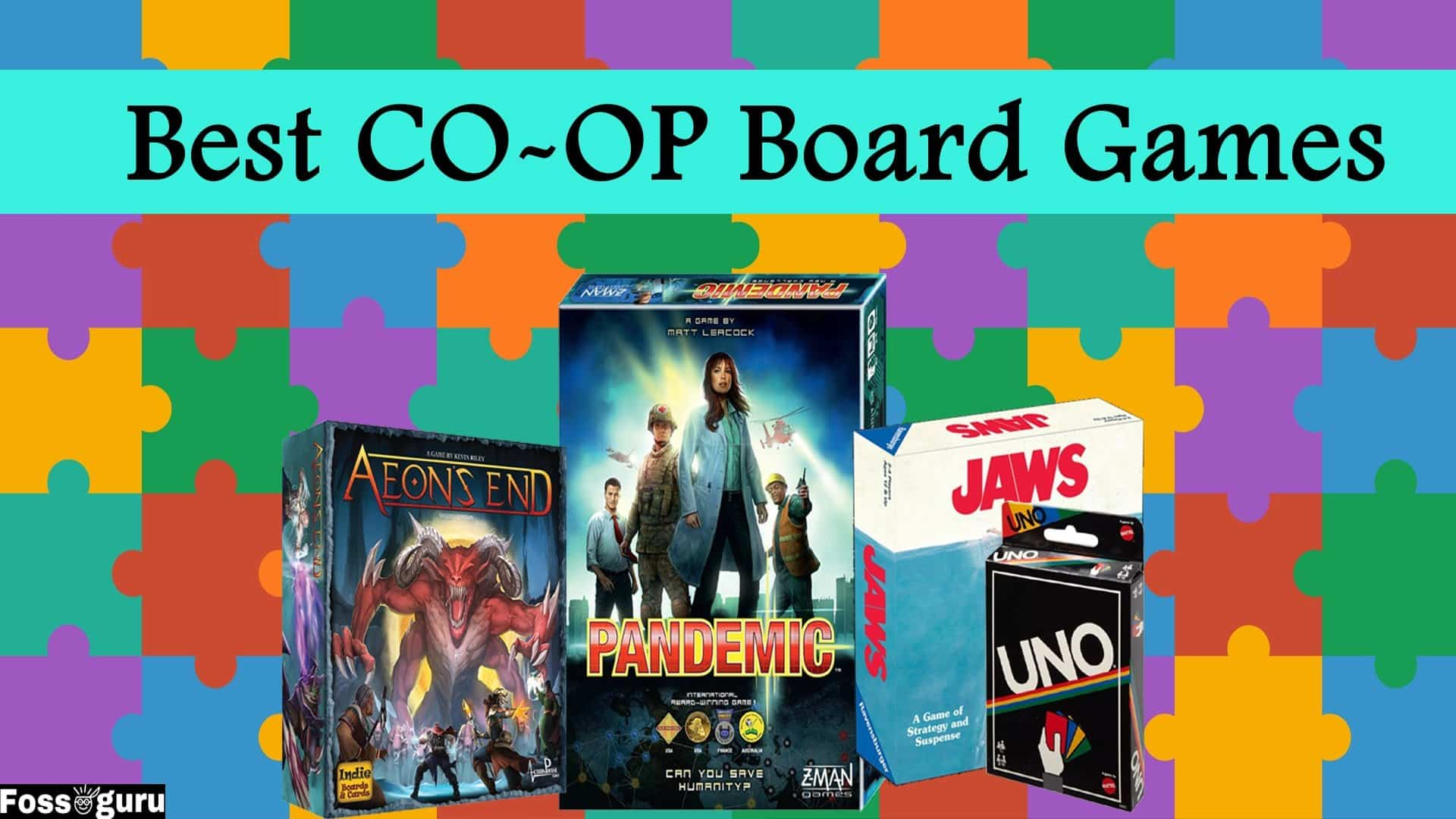 Best Cooperative Board Games