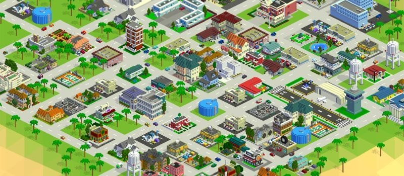 Bit City is one of my favorite Android clicker games.