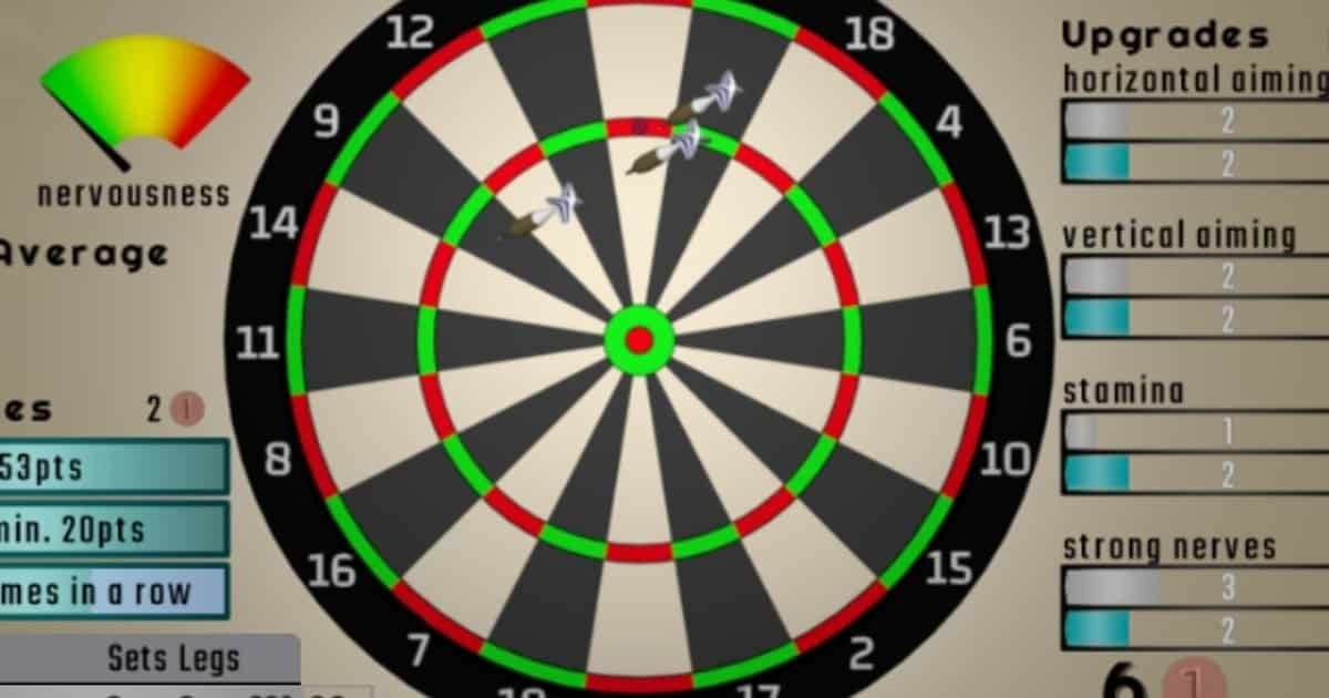 Darts Idle time passing game