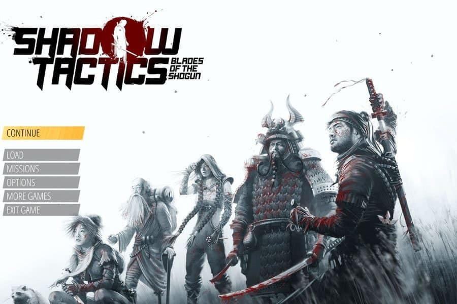 Shadow Tactics Blade of the Shogun