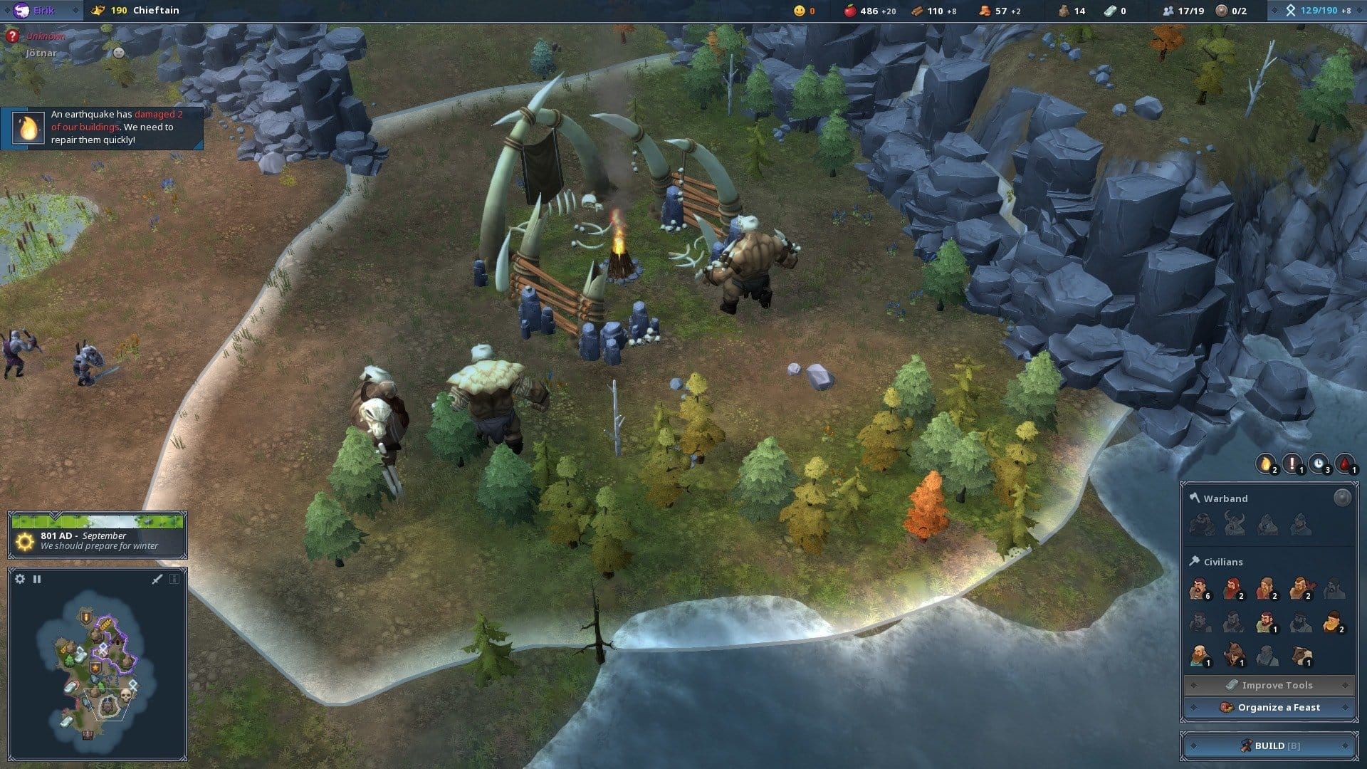 northgard the best real time strategy games pc
