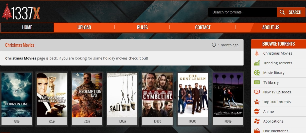 1337x Movies is a free movie website to ensure your entertainment.