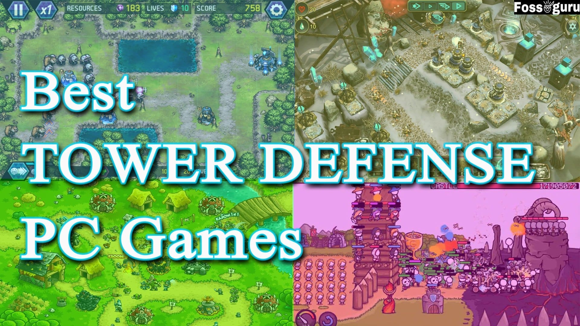 Best Tower Defense Games PC and Android