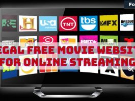 Legal Free Movie Website for Online Streaming