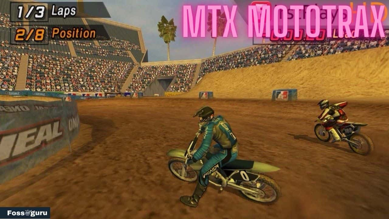 MTX Mototrax dirt bike games online