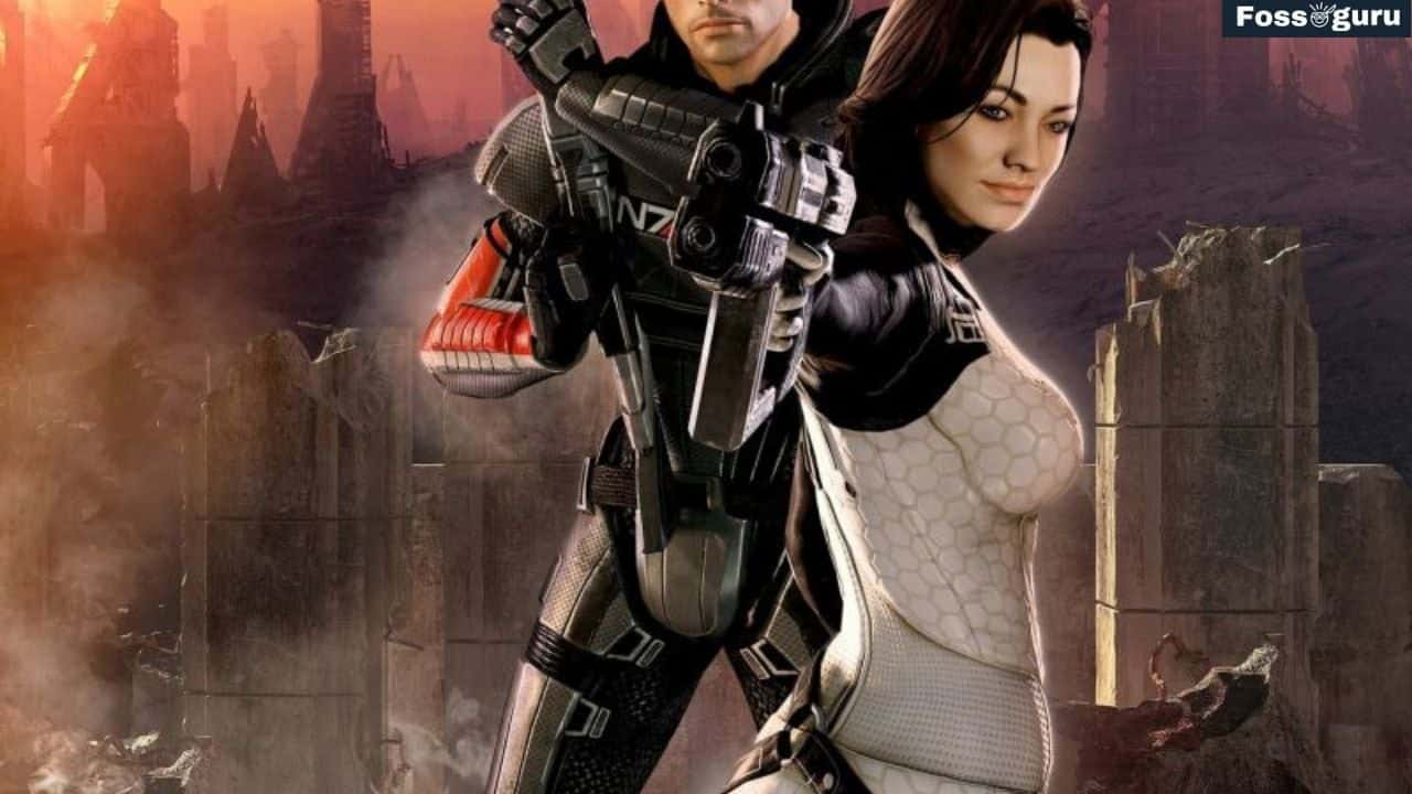 Mass Effect 2 sci fi open world games