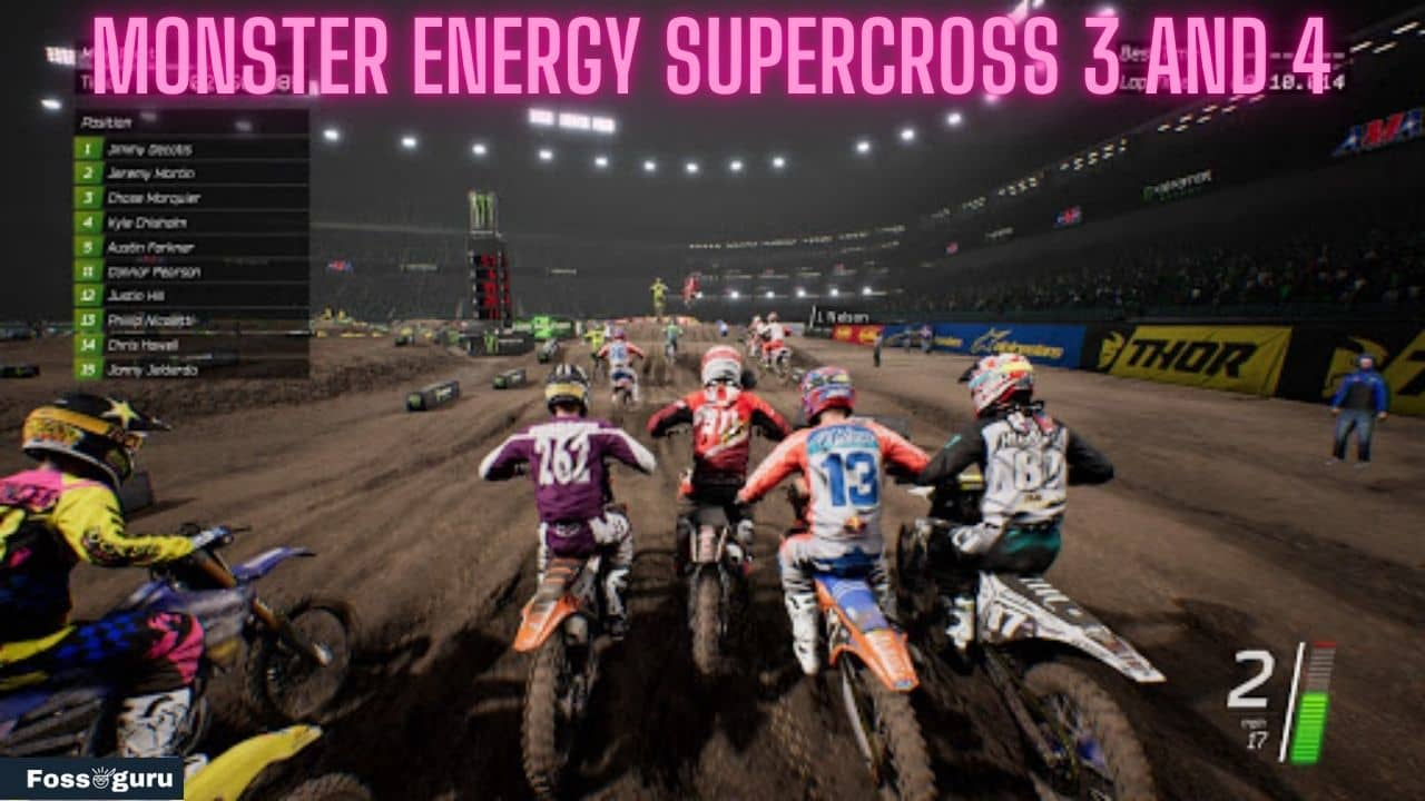 Monster Energy Supercross 3 and 4