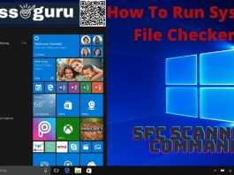SFC Scannow Command How To Run System File Checker