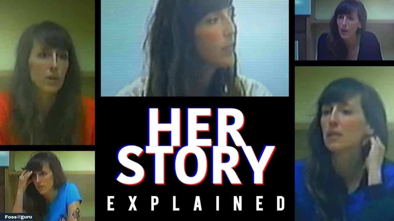 best story driven games for pc - HER STORY