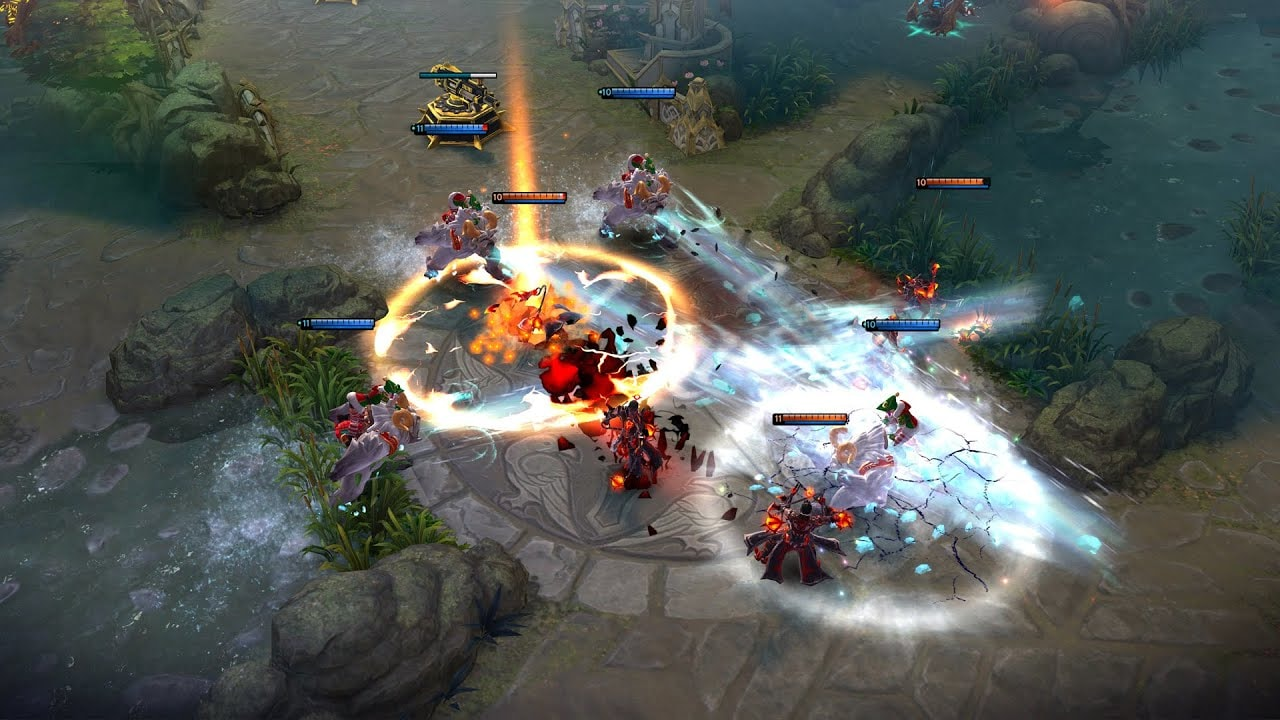 According to Super Evil Megacorp, Vainglory is known as the 'no compromise cross-platform MOBA game'.