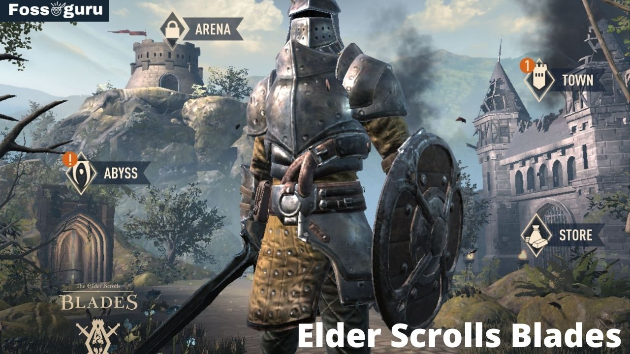 Best High Graphics Android Games with Adventure - Elder Scrolls Blades