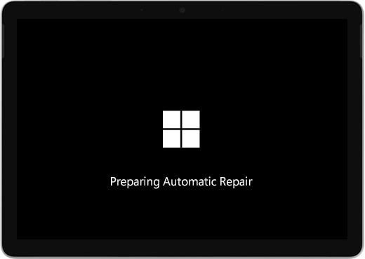 C to start automatic repairing by restarting your pc