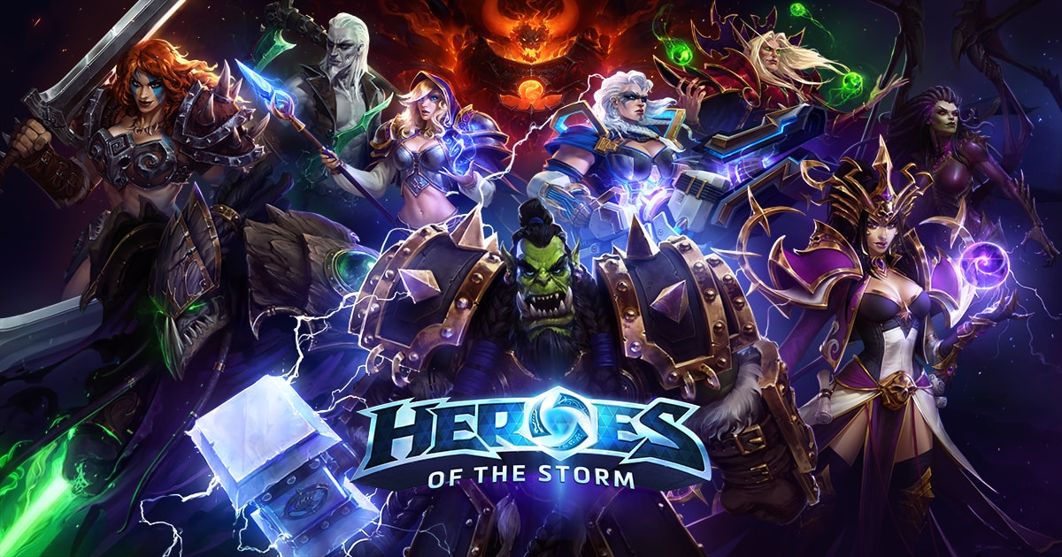 multiplayer online battle arena: HEROES OF THE STORM