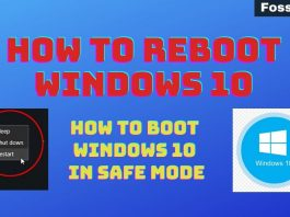 How to Boot Windows 10 in Safe Mode And Reboot Easily