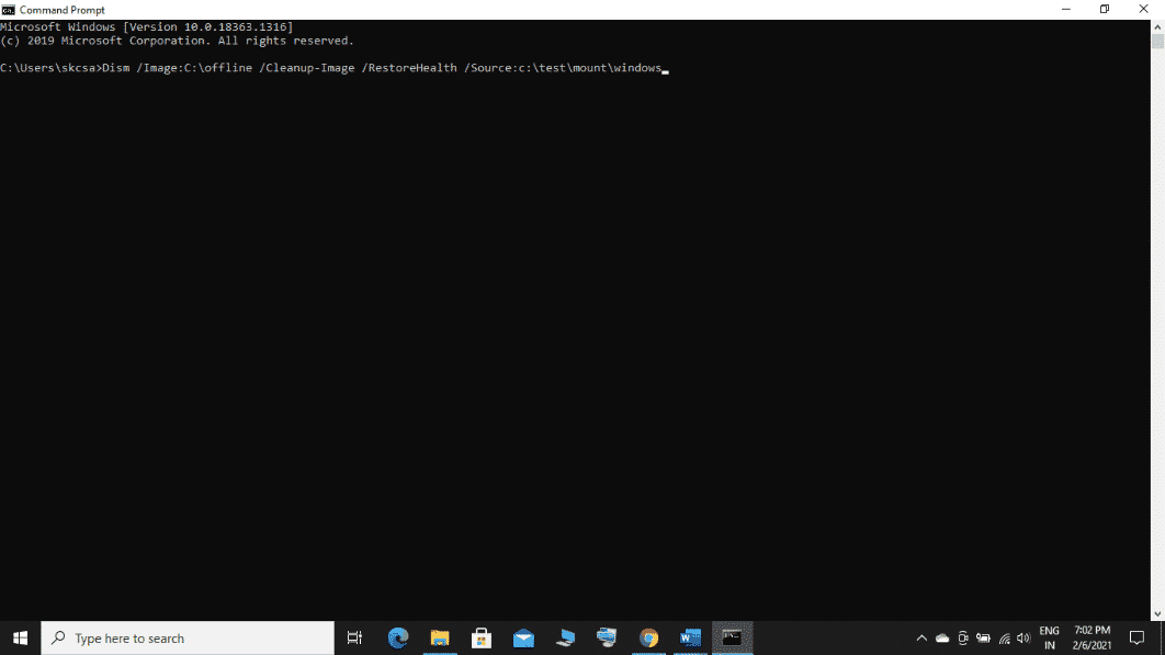 How to Run DISM in Windows