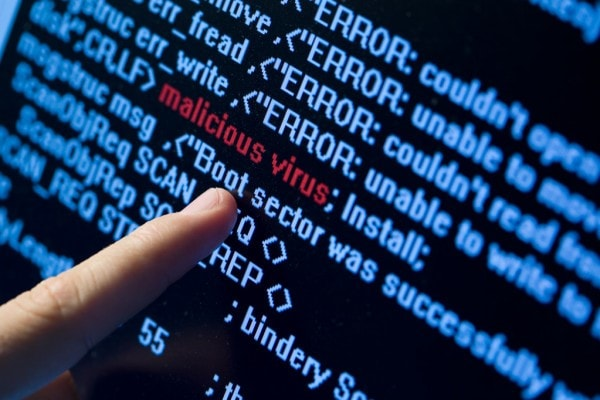 Is kernel security check failure a virus