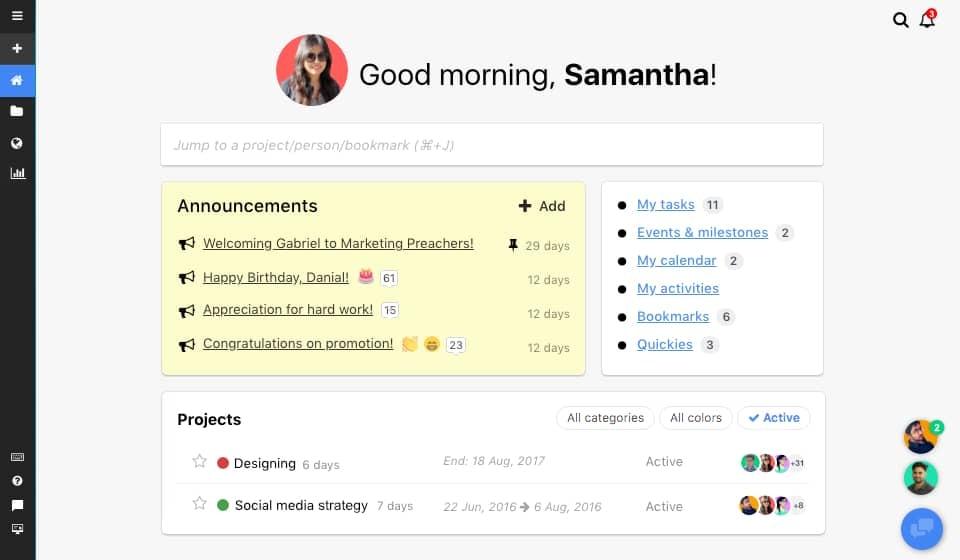 ProofHub Task management software