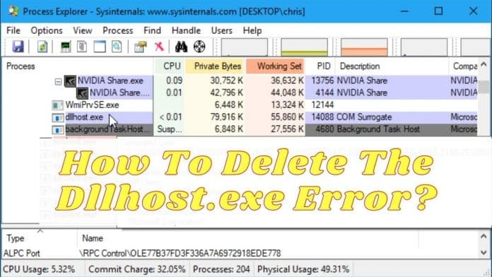 What Is Dllhost.exe How To Delete The Dllhost.exe Error