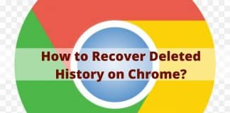 How to Recover Deleted History on Chrome