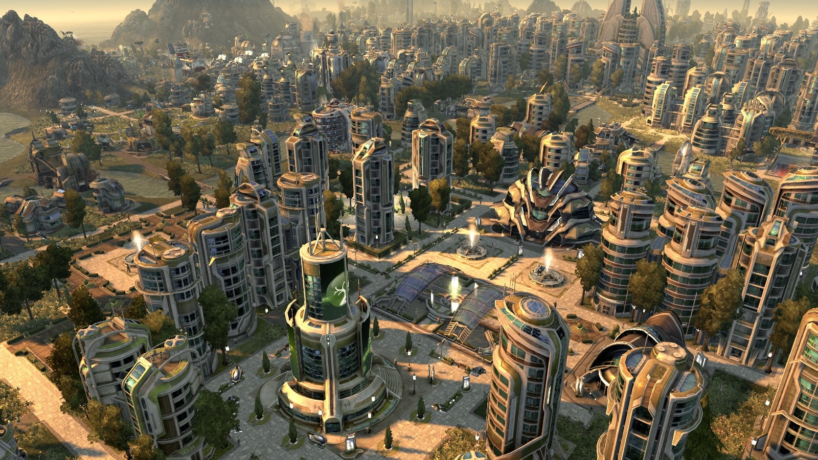 In Anno 2070, you are tasked with reshaping the city after a massive disaster has hit it.