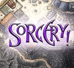 Sorcery! is a text and graphic-based adventure game