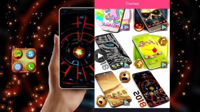 3D 2021 Theme For Android