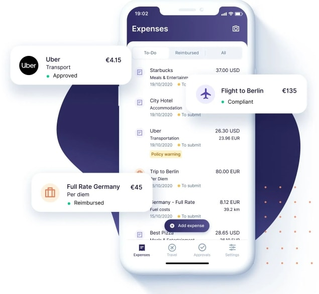 Rydoo fantastic travel and expense management software