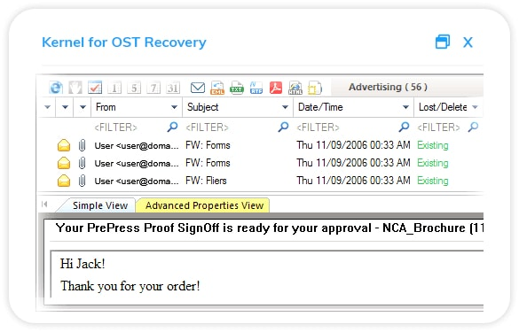 Kernel for OST Recovery