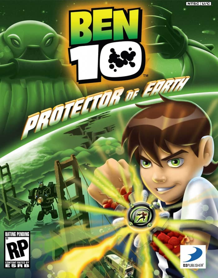 Ben 10 Protector of Earth ppsspp games
