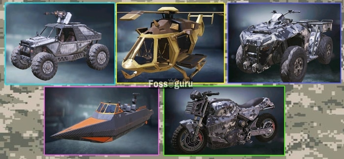 Call of duty mobile Battle Royale Make Use of the Vehicles